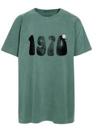 NEWTONE Trucker '1970s' T-shirt - Forest Green
