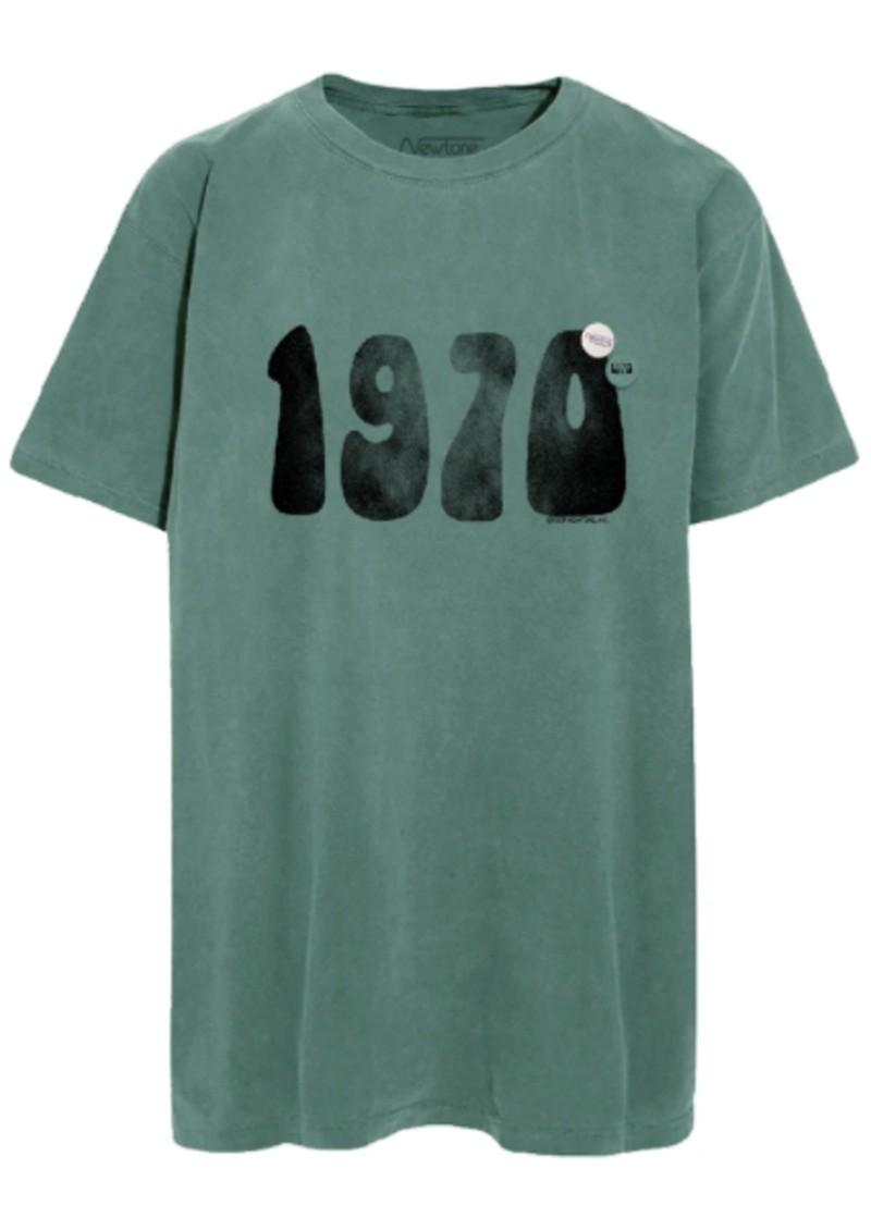 NEWTONE Trucker '1970s' T-shirt - Forest Green main image