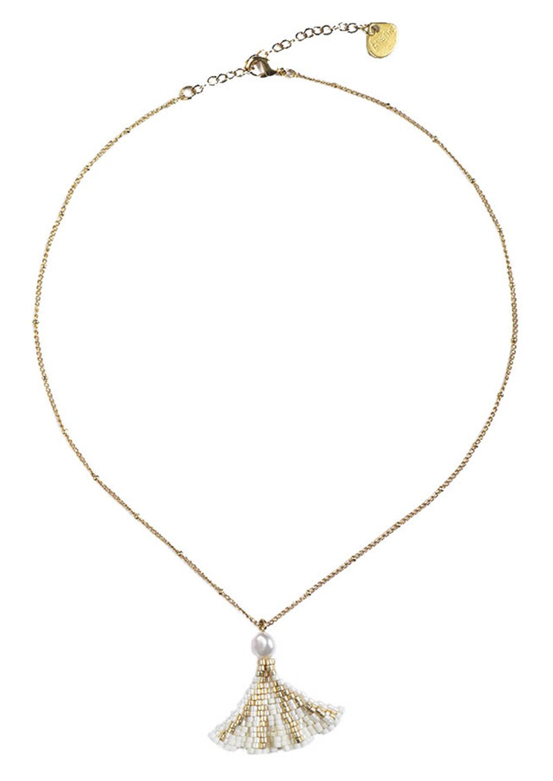 Coquille Necklace - Gold main image