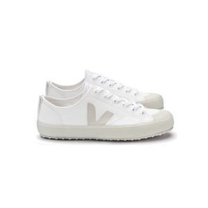 Nova Canvas Trainers - White Pierre