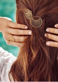 PERNILLE CORYDON Daylight Hair Clip - Silver
