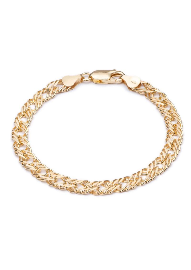 RACHEL JACKSON Statement Chevron Chain Bracelet - Gold main image