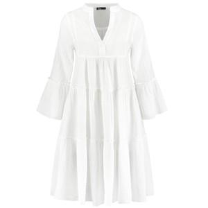 Ella Short Cotton Dress - White