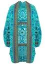 INOA Short Silk Printed Shrug - Atlantis