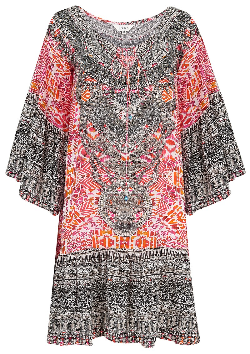Gypsy Silk Dress - Shiraz main image
