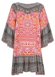 INOA Gypsy Silk Dress - Shiraz