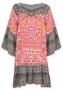 INOA Gypsy Silk Dress - Shiraz
