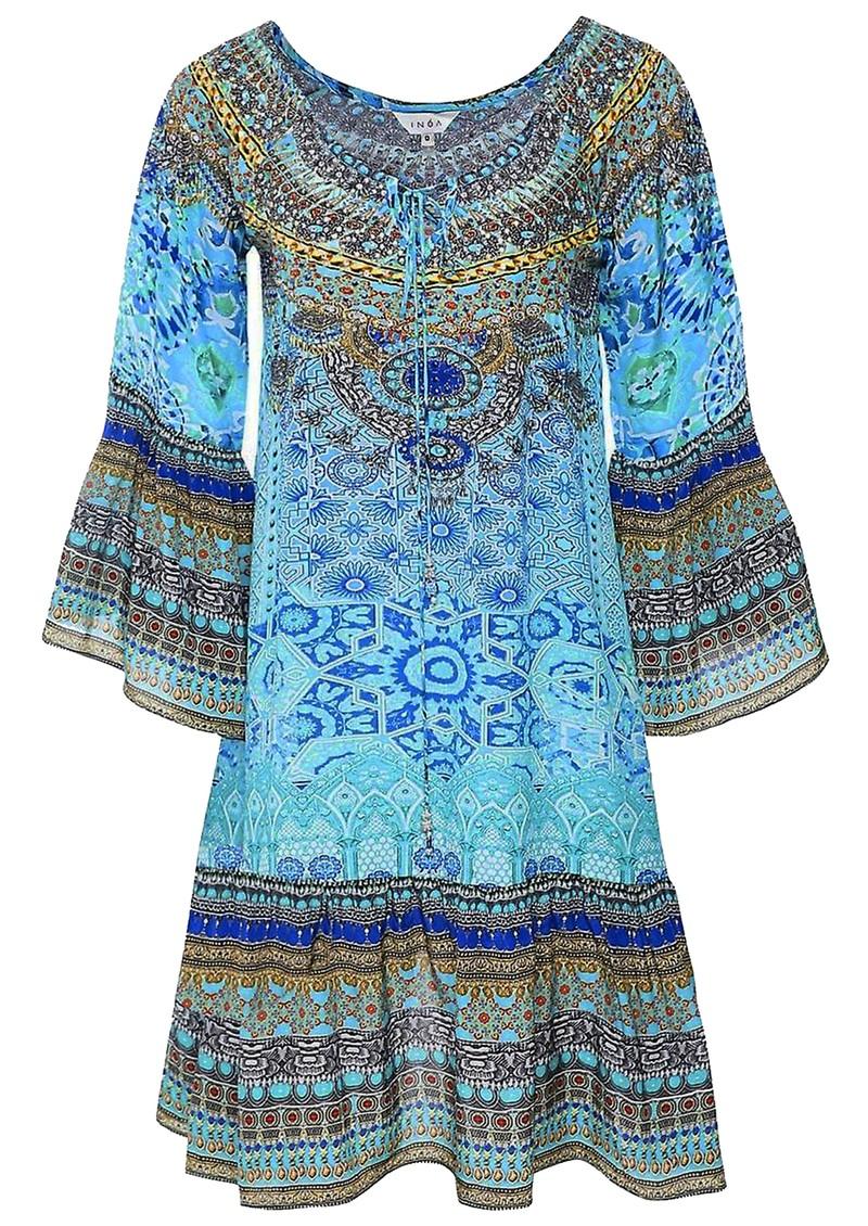 INOA Gypsy Silk Dress - Atlantis main image