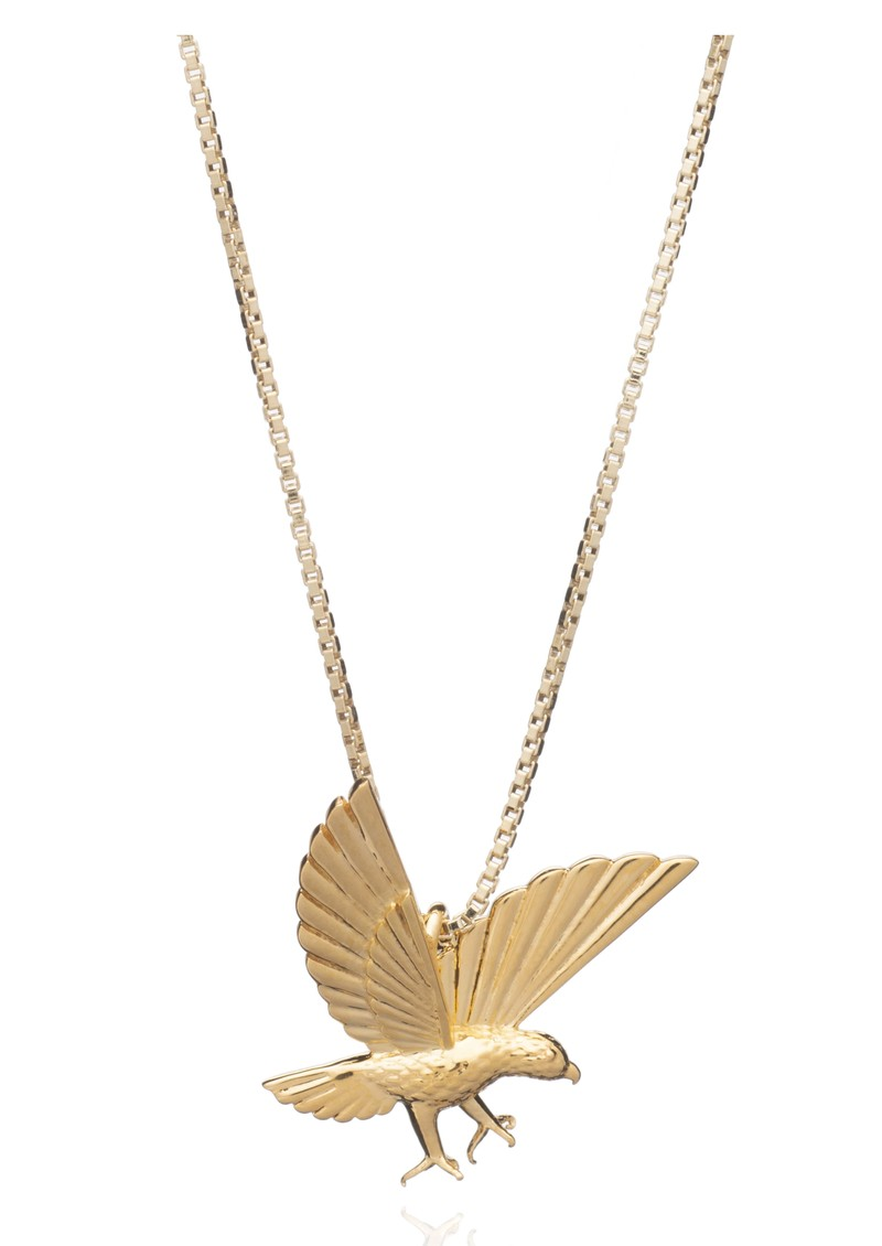 Strength Statement Eagle Necklace - Gold main image