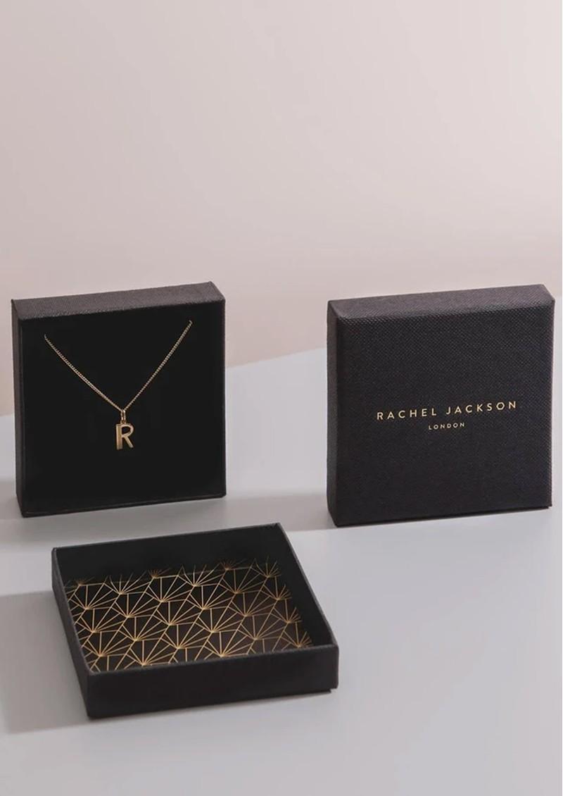 RACHEL JACKSON Floral Cross Necklace - Gold main image