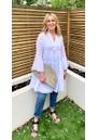 DEVOTION Ella Short Cotton Dress - White