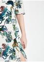 Pyrus Beatrice Silk Maxi Dress - Tigers