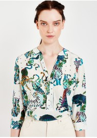 Pyrus Paola Silk Blouse - Tigers