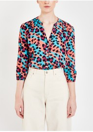 Pyrus Solace Printed Blouse - Litmus Animal
