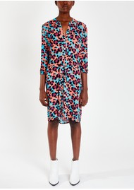 Pyrus Marina Printed Dress - Litmus Animal