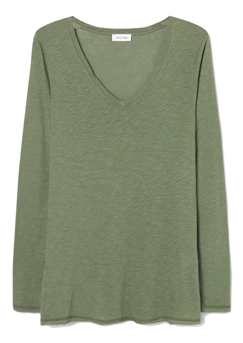 American Vintage Lorkford Long Sleeve T-Shirt - Camouflage main image