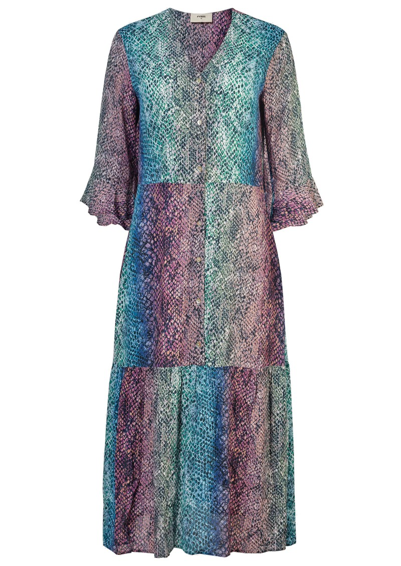 Pyrus Adele Printed Dress - Python main image