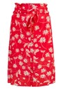 Pyrus Elise Printed Silk Skirt - Simple Flowers