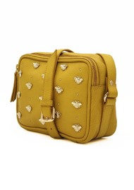 NOOKI Nixie Bee Studded Bag - Citrus