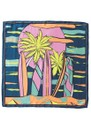 Surf Sia Silk Scarf - Blue additional image