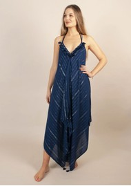 NOOKI Larna Dress - Navy