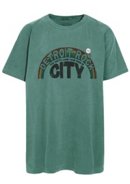 NEWTONE Trucker Detroit T-Shirt - Light Green