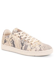 WODEN Jane Snake Trainers - Off White