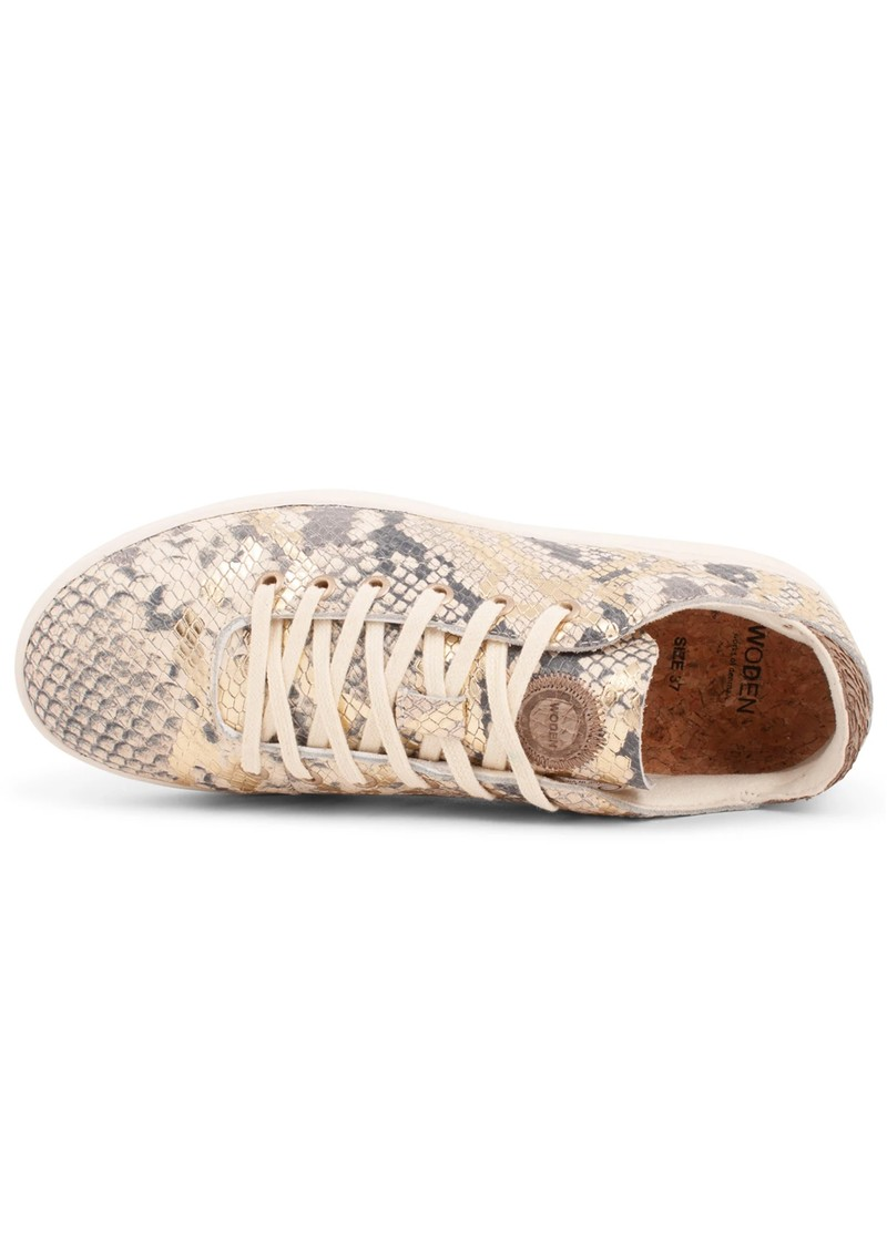 WODEN Jane Snake Trainers - Off White main image