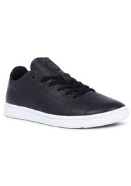 WODEN Jane Leather Trainers - Black