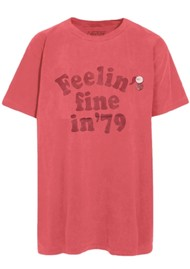 NEWTONE Trucker 'Feeling Fine in 79' T-shirt - Malabar