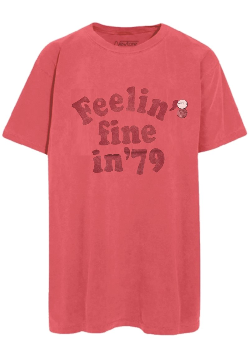 NEWTONE Trucker 'Feeling Fine in 79' T-shirt - Malabar main image