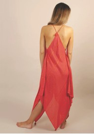 NOOKI Larna Dress - Coral
