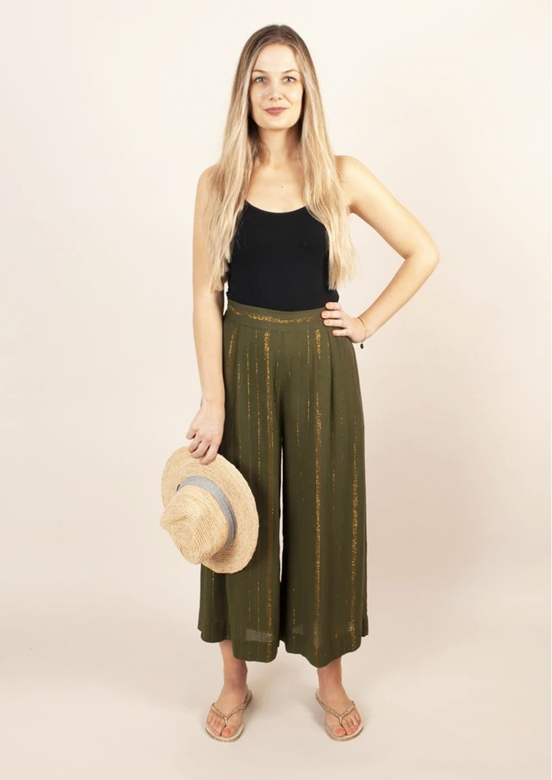 NOOKI Lottie Trouser - Khaki main image