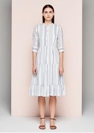 DREAM Striped Dress - Blue & White