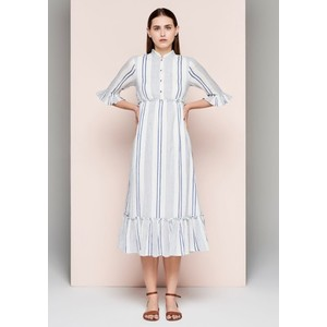 Stripe Dress - Blue & White