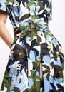 SFIZIO Tropical Midi Shirt Dress - Jungle