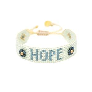 Hope Beaded Bracelet - Mint