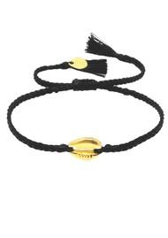 MISHKY Caracolito Shell Bracelet - Black
