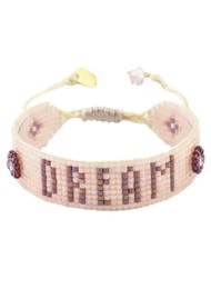 MISHKY Dream Beaded Bracelet - Nude