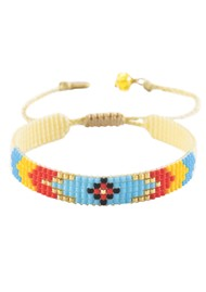 MISHKY Peeky Narrow Bracelet - Multi Bright