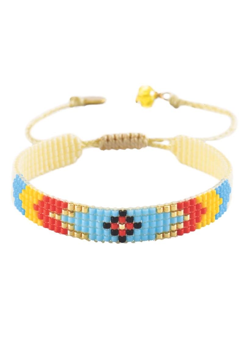 MISHKY Peeky Narrow Bracelet - Multi Bright main image