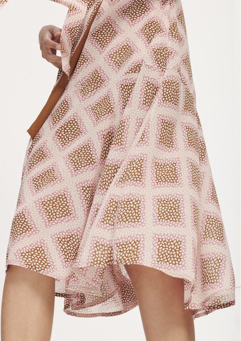 SAMSOE & SAMSOE Klea Midi Wrap Dress - Foulard main image