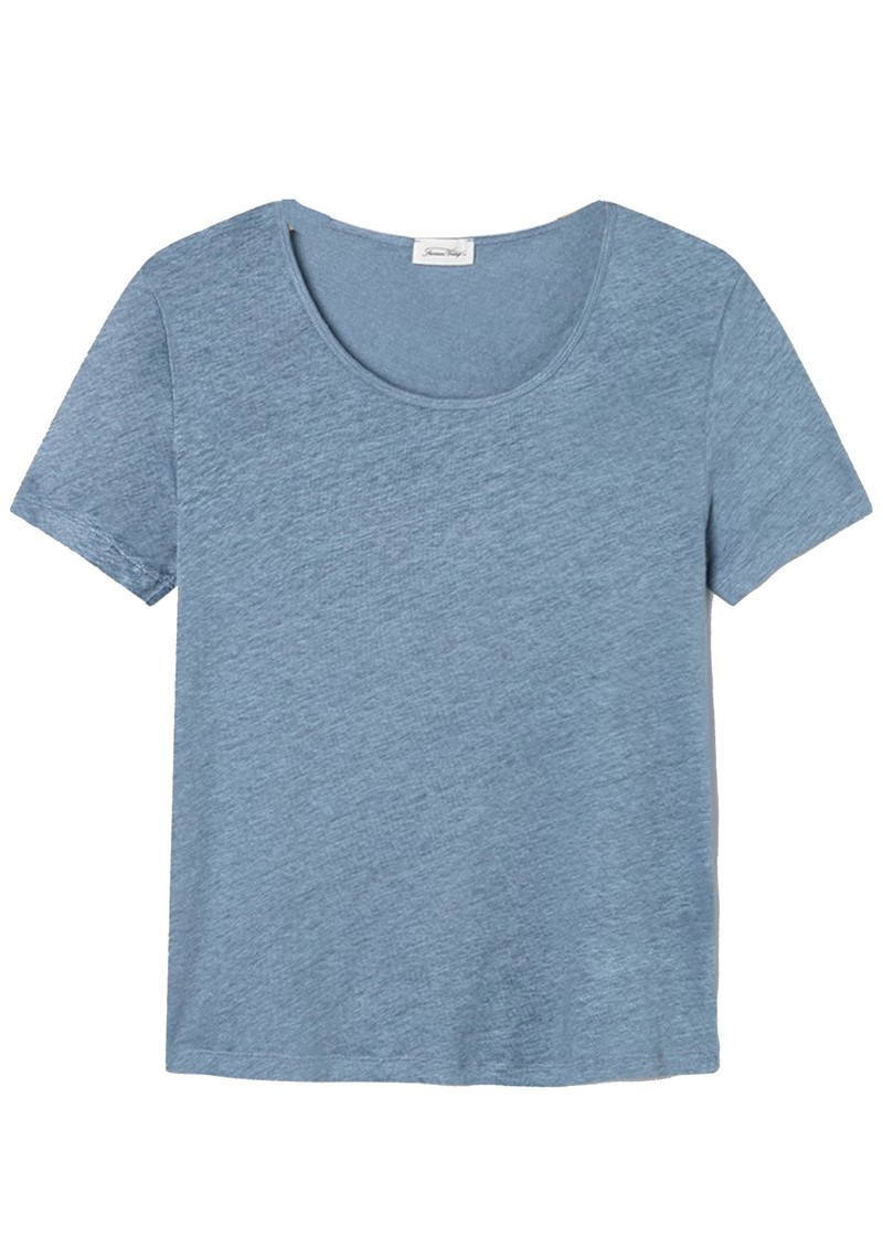 American Vintage Lolosister Linen T-Shirt - Ice main image