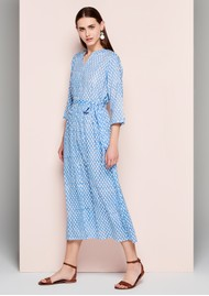 DREAM Dorris Cover Up Dress - Light Blue