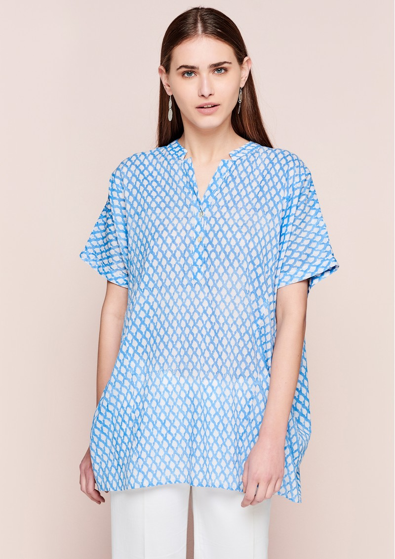DREAM Cotton Shirt - Light Blue main image