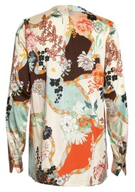 DEA KUDIBAL Santena Exclusive Printed Silk Blouse - Harmony