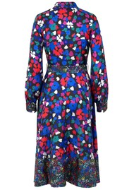 STINE GOYA Reflection Silk Dress - Wildflowers