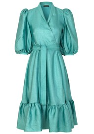 STINE GOYA Chinie Dress - Aqua