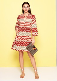 DREAM Beverly Dress - Brick Red