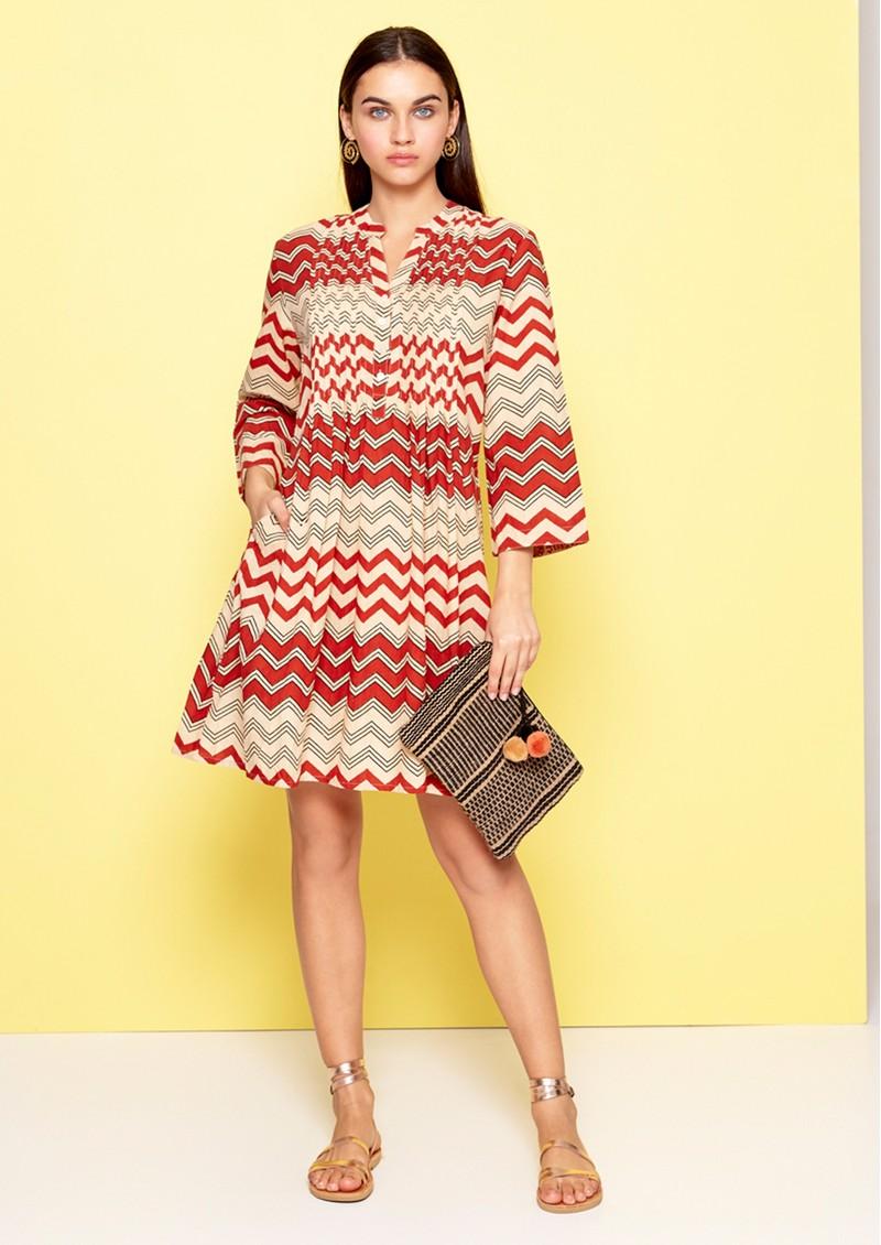 DREAM Beverly Dress - Brick Red main image